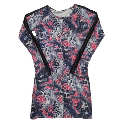 Φόρεμα λεοπάρ με λουλούδια
