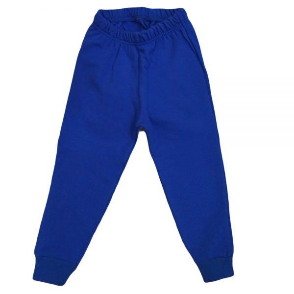 Παντελόνι φόρμας μπλε ρουά