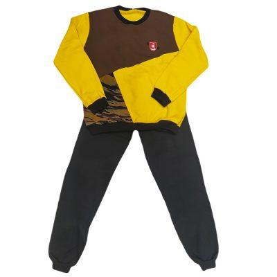 Φόρμα τρίχρωμη κίτρινη καφέ στρατιωτική