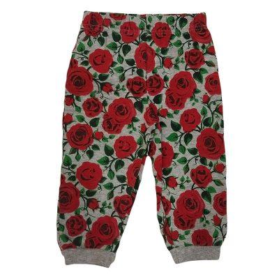 Παντελόνι φόρμας με τριαντάφυλλα
