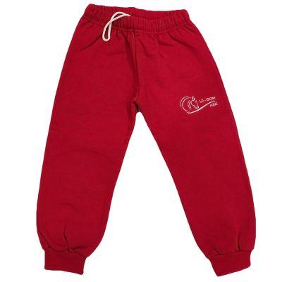 Παντελόνι φόρμας κόκκινο αλογάκι