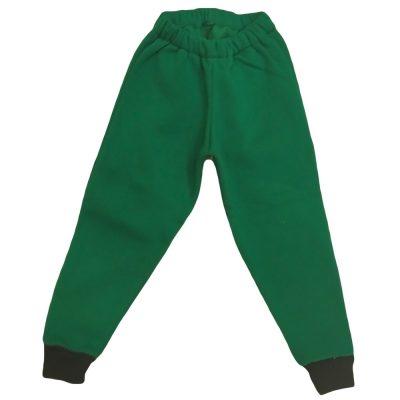 Παντελόνι φόρμας πράσινο δίχρωμο