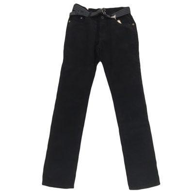 Παντελόνι μαύρο κοτλέ