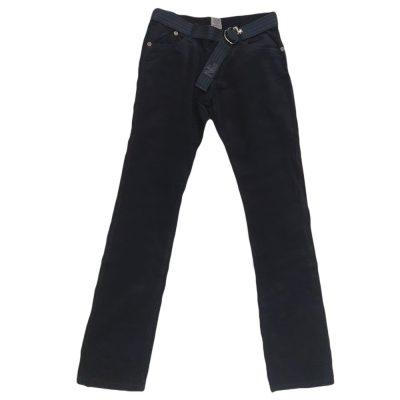 Παντελόνι μπλε σκούρο κοτλέ