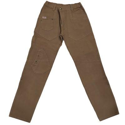 Παντελόνι χειμερινό καφέ με τσέπες