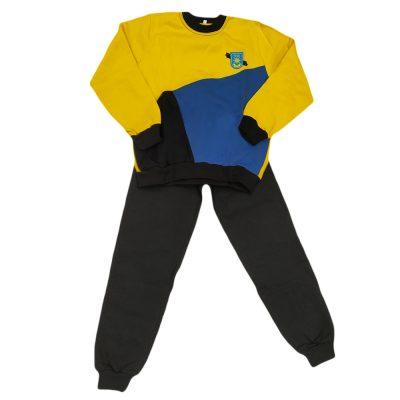 Φόρμα τρίχρωμη κίτρινη ρουα μαύρο