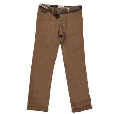 Παντελόνι ταμπά με ζώνη