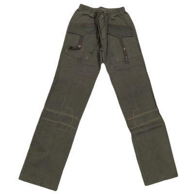 Παντελόνι χακί με λάστιχο