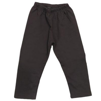 Παντελόνι φόρμας καφέ πολύ σκούρο χωρίς λάστιχο