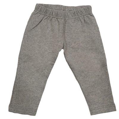Παντελόνι φόρμας γκρι ανοιχτό χωρίς λάστιχο