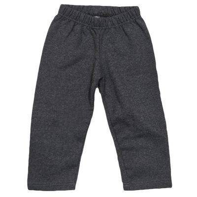 Παντελόνι φόρμας γκρι σκούρο χωρίς λάστιχο