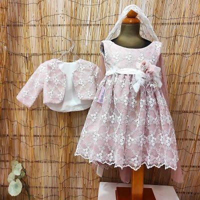 Βαπτιστικό φόρεμα Marilli's House 8