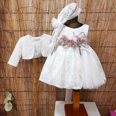Βαπτιστικό φόρεμα Marilli's House 9