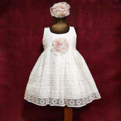 Βαπτιστικό φόρεμα Makis Tselios 28