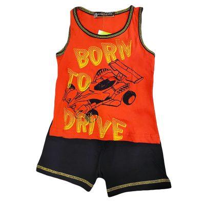 Σετ μακό αμάνικο born to drive