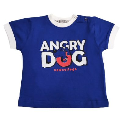 Μπλούζα ρουά angry dog