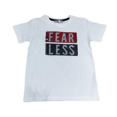 Μπλούζα fearlessμε πούλιες που αλλάζουν