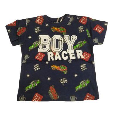 Μπλούζα κοντομάνικη boy racer μπλε