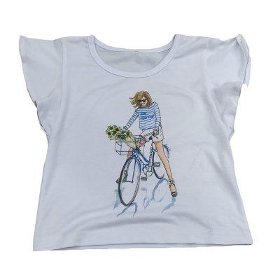 Μπλούζα με ποδήλατο