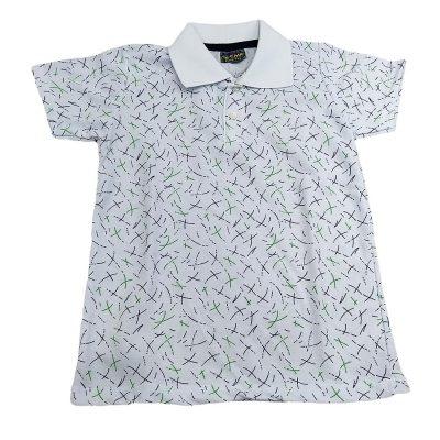 Μπλούζα με γιακά λευκή