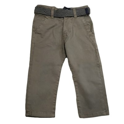 Παντελόνι χακί με ζώνη
