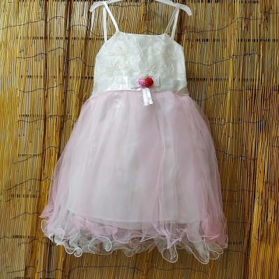 Φόρεμα με τούλι ροζ