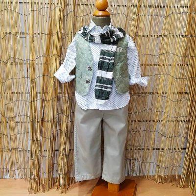 Βαπτιστικό κοστούμι Makis Tselios 46