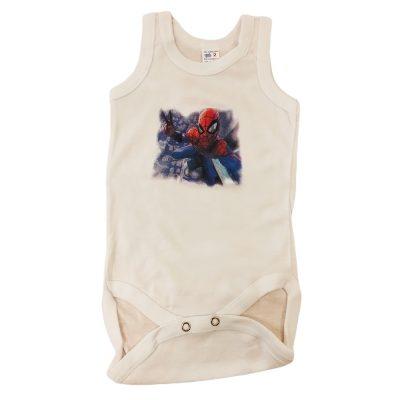 Φανελάκι ολόσωμο αμάνικο spiderman
