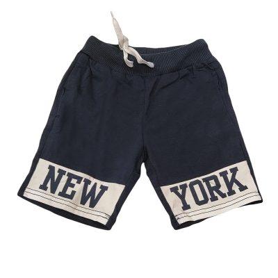Βερμούδα new york μπλε /λευκό