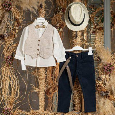 Βαπτιστικό κοστούμι marillys house 4