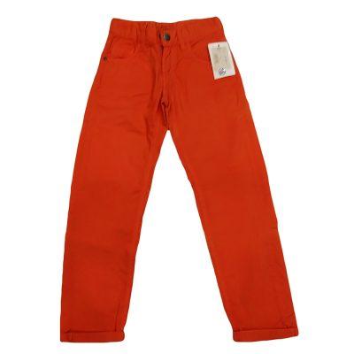 Παντελόνι υφασμάτινο πορτοκαλί