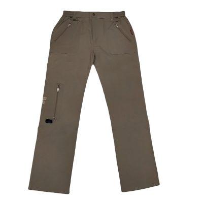Παντελόνι υφασμάτινο με φερμουάρ στην τσέπη
