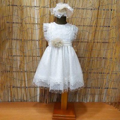 Βαπτιστικό φόρεμα Makis Tselios 33