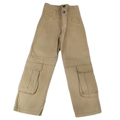 Παντελόνι μπεζ με τσέπες