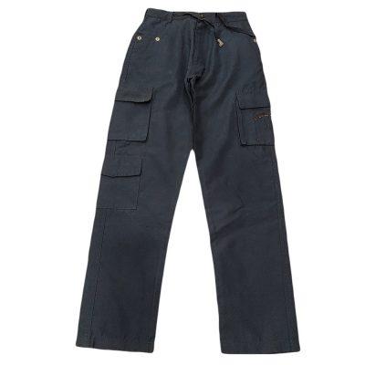 Παντελόνι μπλε υφασμάτινο
