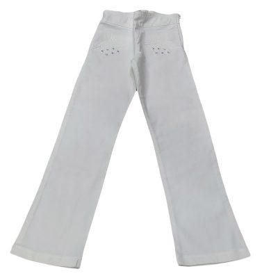 Παντελόνι λευκό ίσια γραμμή