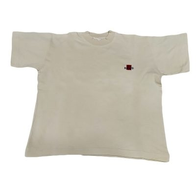 Μπλουζάκι κοντομάνικο εκρού