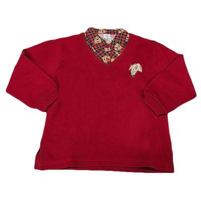 Μπλουζοπουκάμισο κόκκινο