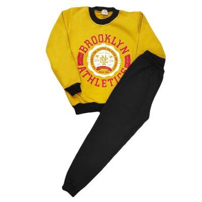 Φόρμα brooklyn athletics μουσταρδί-κόκκινο